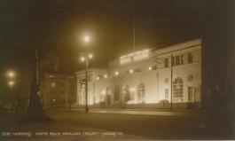 White Rock Pavilion night scene from south-east
