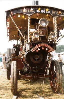 a - Burrell Showmans loco b1921 L Searle, Horsham FOT 1981