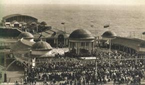 pier from White Rock 1920s