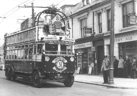 Trolley Bus, 3 DY4965 last trolley parade, Silverhill 1-6-1959