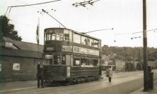 100 route 38 to Embankment @ Abbey Wood terminus 1951