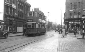 105 route 58 to Blackwall Tnl, post-war
