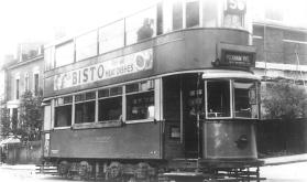 111 route 56 to Peckham Rye 30-9-1951