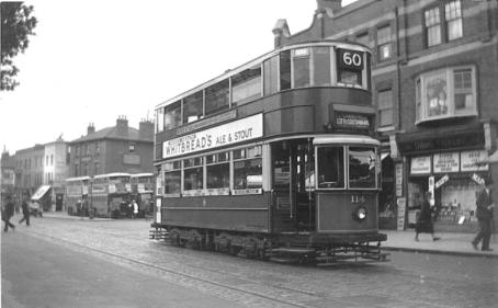 114 route 60 to Southwark, pre-war