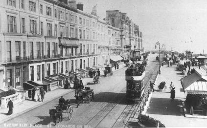 12 to West Marina, Eversfield Place looking east c1910