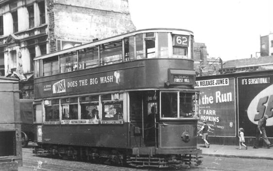120 route 62 to Forest Hill @ Westminster 1949