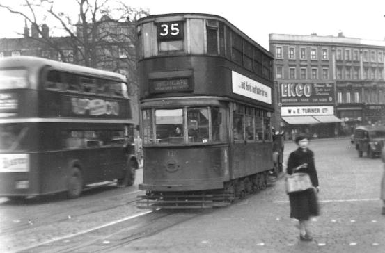 121 route 35 to Highgate, 8-3-1952