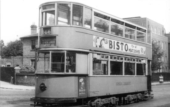 127 route 66 to Forest Hill, post-war