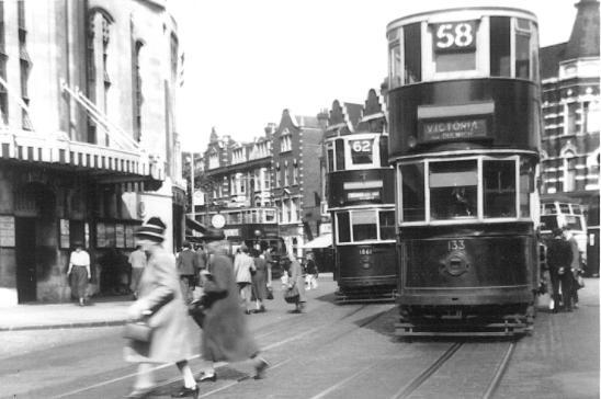 133 route 58 to Victoria, 1861 route 62, 18-8-1951