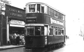 138 route 58 to Blackwall Tnl @ Greenwich, post-war