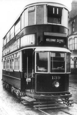 139 LCC livery 12-1932