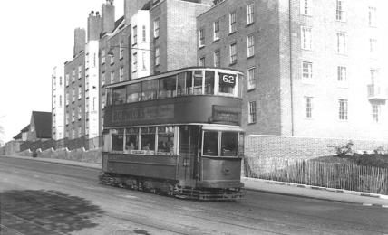 154 route 62 to Forest Hill on Dog Kennel Hill, post-war
