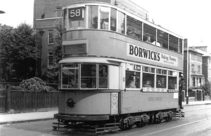 159 route 58 to Blackwall Tnl, post-war
