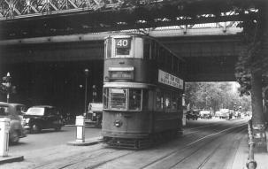 169 E3 class serv 40 on Enbankment 2-7-1952