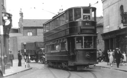 298 route 46 to Southwark @ Woolwich 19-4-1952