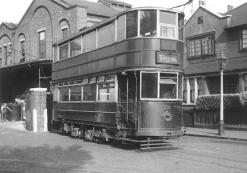 330 staff car outside Charlton Works Spring 1951