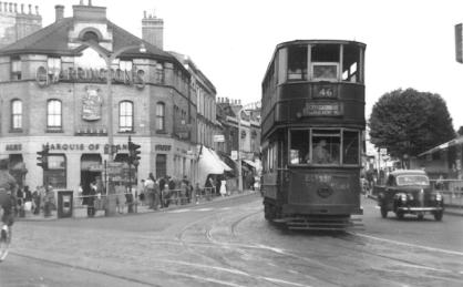 337 route 46 to Southwark 5-7-1952