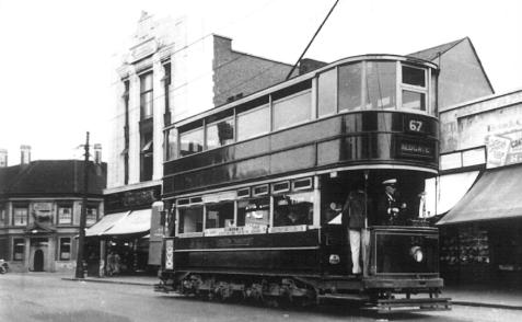343 route 67 to Aldgate @ Barking Common 25-7-1938