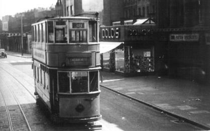 82 route38 to Embankment in Old Kent Rd post-war