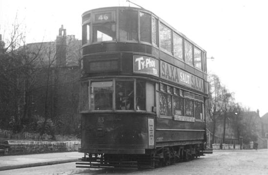 83 route 46 to Beresford Sq 14-4-1951