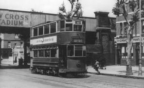 86 route 36 to Abbey Wood in Old Kent Rd, post-war