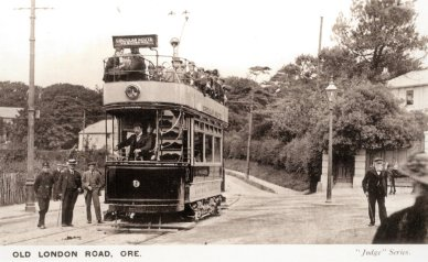 9 circular route, Old London Rd Ore 15-9-1905