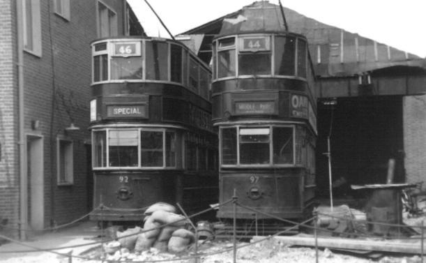 92 & 97 Abbey Wood depot reconstruction 19-4-1952