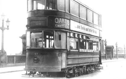 97 on Southwark Bridge 22-6-1952