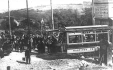 Delivery tram car Silverhill c1905
