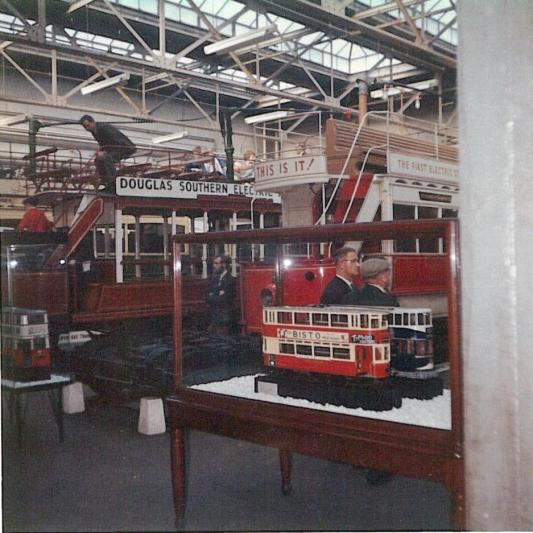 General view trams & models, Clapham Museum