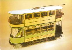 Model Erith car 12 1905 Brush 48 seats, Clapham Mus