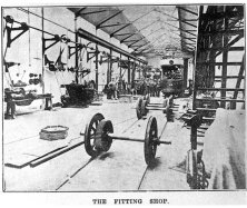 Silverhill Dep fitting shop interior 28-1-1909