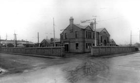 Silverhill Depot Entrance from road c1928