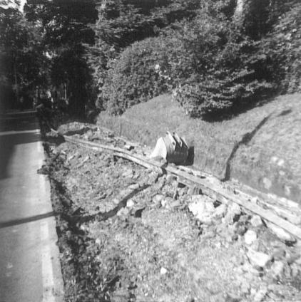 Track removed from trench, The Ridge 9-1976 [4]
