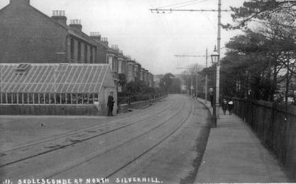 Track view, Sedlescombe Rd Nrth, Silverhill c1905