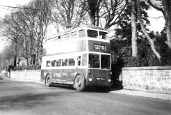 Trolley 1 BDY776 serv to Hollington 31-10-1954