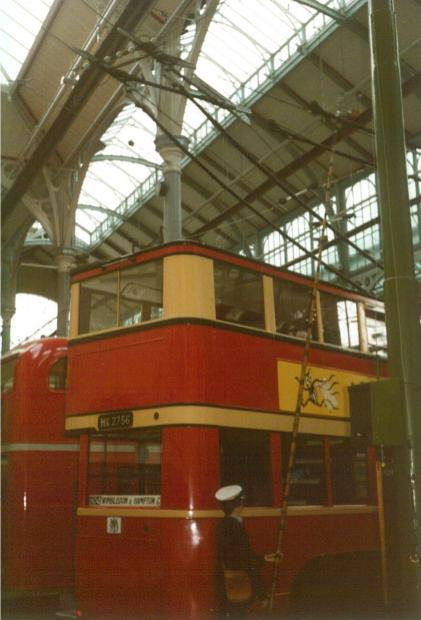 Trolley 1 HX2756 rear view Covent Garden Mus 17-9-1983