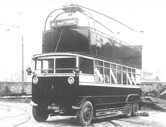 Trolley 1 d-d Silverhill Dep 4-1928 wd 1940