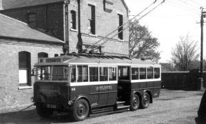 Trolley 49 Silverhill Dep yard