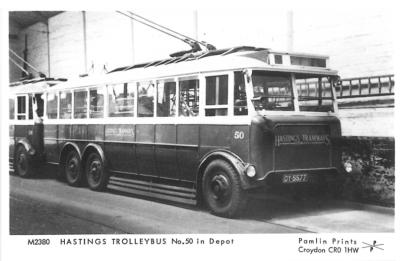 Trolley 50 s-d in depot