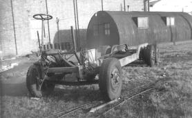 Trolley chassis unknown location or date