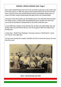 BEXHILL ROWING CLUB—Page 2