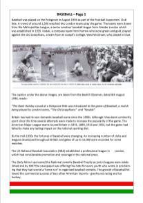 Baseball - Page 1