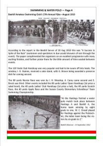 SWIMMING & WATER POLO — Page 4