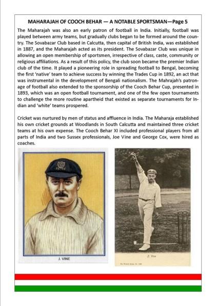 Maharaja of Cooch Behar- Page 5
