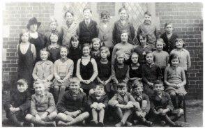 St Mark's school class, c1940s