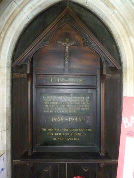 St Barnabas Church Memorial