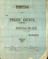 Auction Brochure 1898