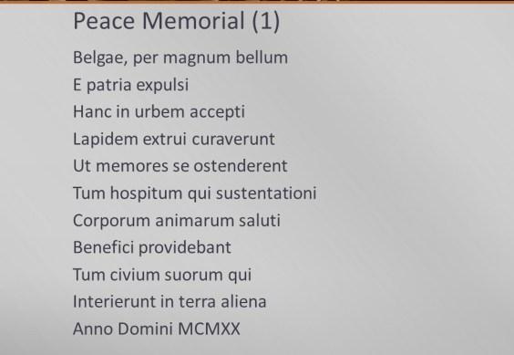 Peace Memorial - 1