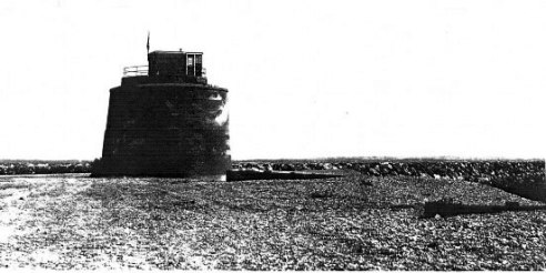 """Tower No. 66 on the """"Crumbles""""at Eastbourne"""